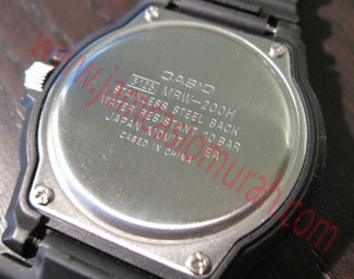 CASIO CASED In CHINA