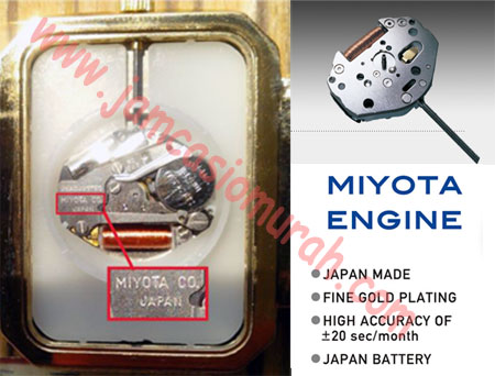Jam tangan Q Q original buatan CBM Corporation menggunakan jenis mesin jam  tangan buatan jepang jenis MIYOTA 91e11be855